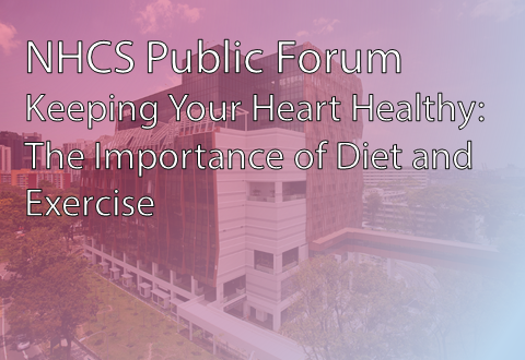 Keeping Your Heart Healthy: The Importance of Diet and Exercise (NHCS Public Forum)