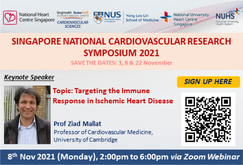 Singapore National Cardiovascular Research Symposium - Webinar 2
