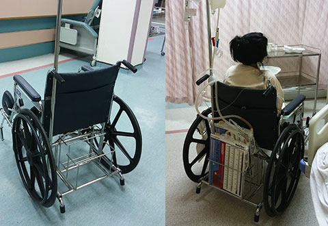 Modified Wheelchair Saves The Day