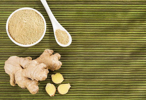 ginger powder and garlic
