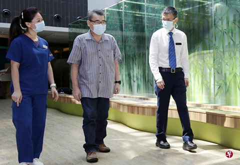 55-year-old male received his opportunity for heart transplant amid the pandemic