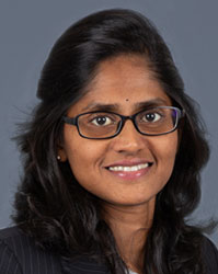 Dr Iswaree Devi Balakrishnan from National Heart Centre Singapore
